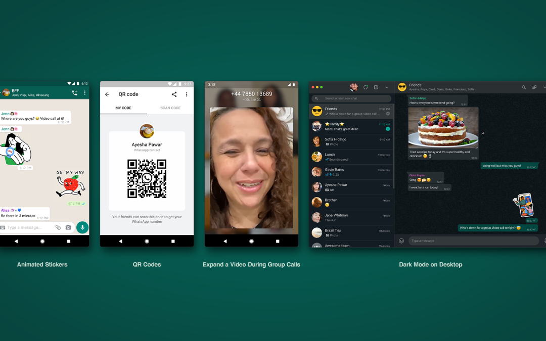 Introducing Animated Stickers, QR Codes and More