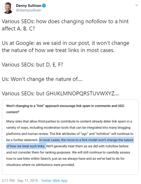 What Google says about nofollow, sponsored, and UGC links in 2020: Does it affect your SEO rankings?