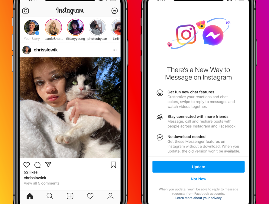 Privacy Matters: Cross-App Communication for Instagram and Messenger